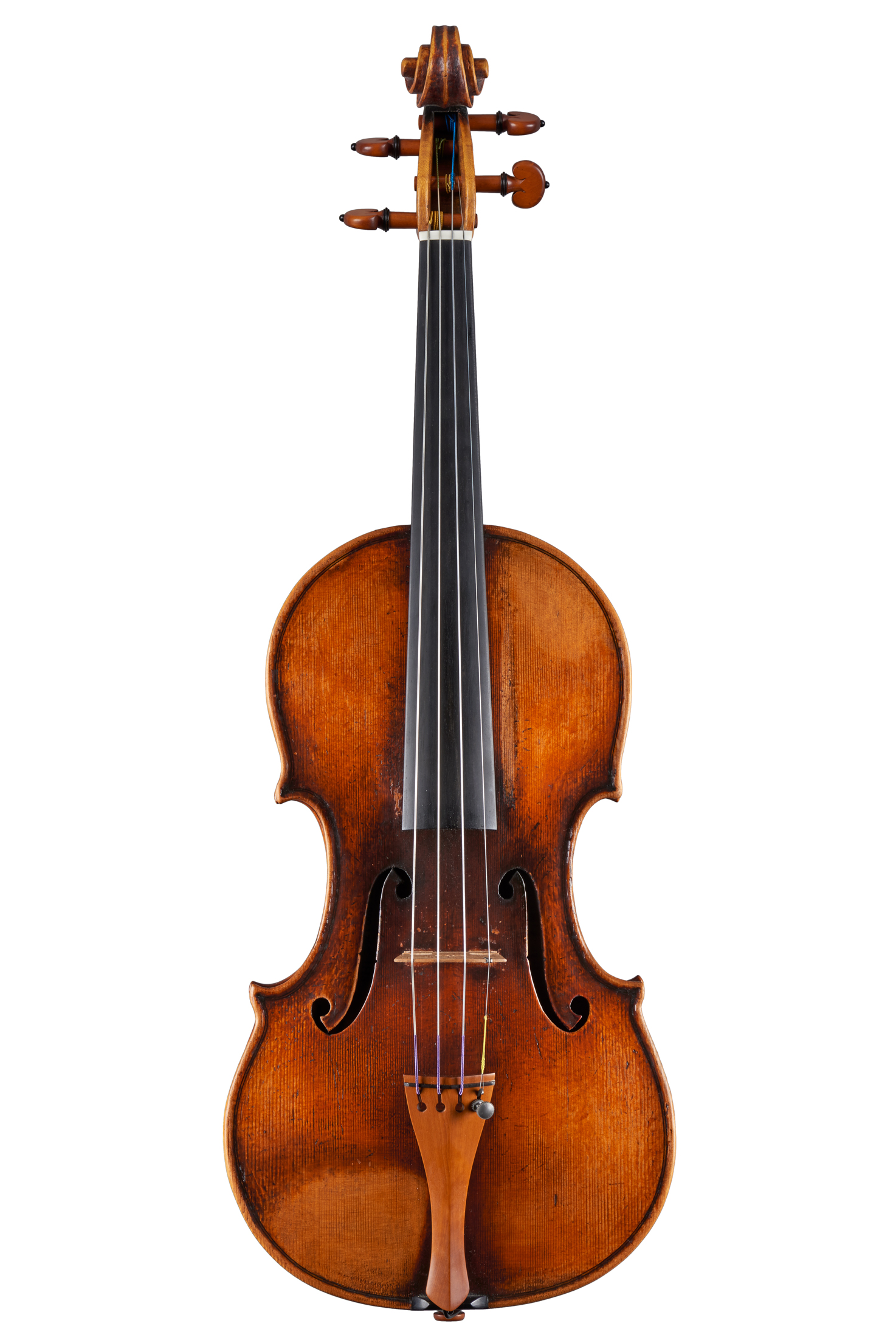 "Violin by Luiz Amorim, copy of Joseph Guarneri ""Del Gesù"" Cannone 1743"