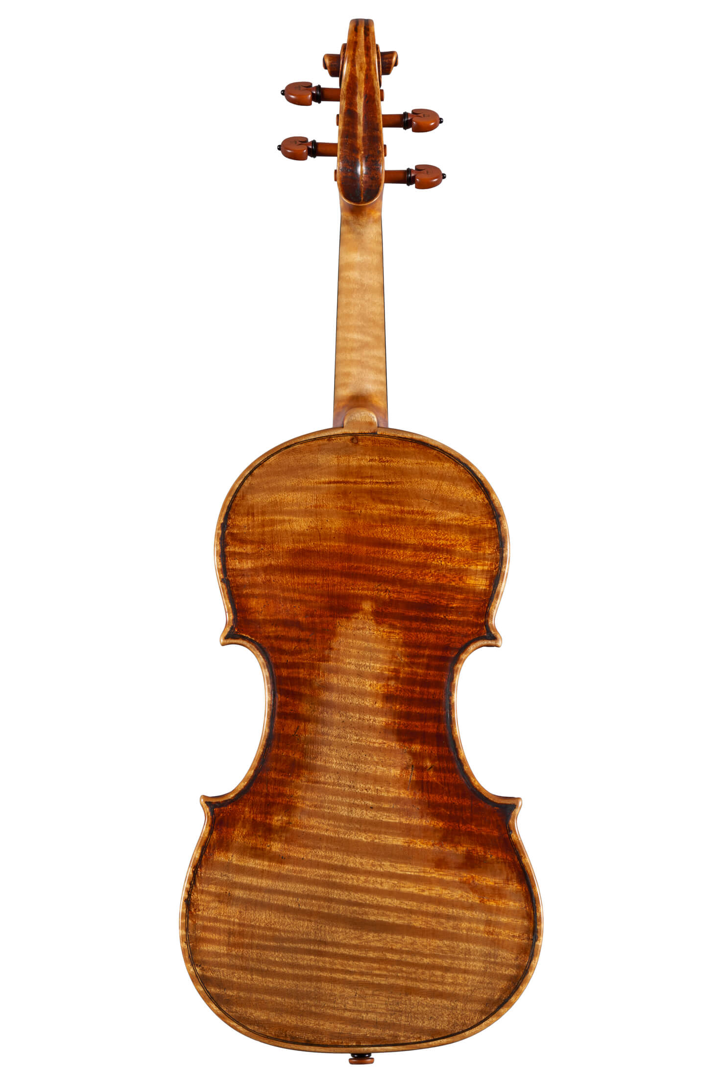 "Violin by Luiz Amorim, Joseph Guarneri ""del Gesù"" model, 2018"