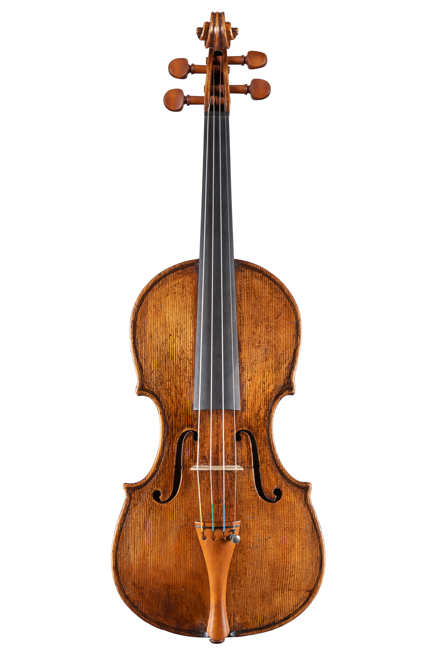 Violin, central Italy, C.F. Landolfi head, c. 1770