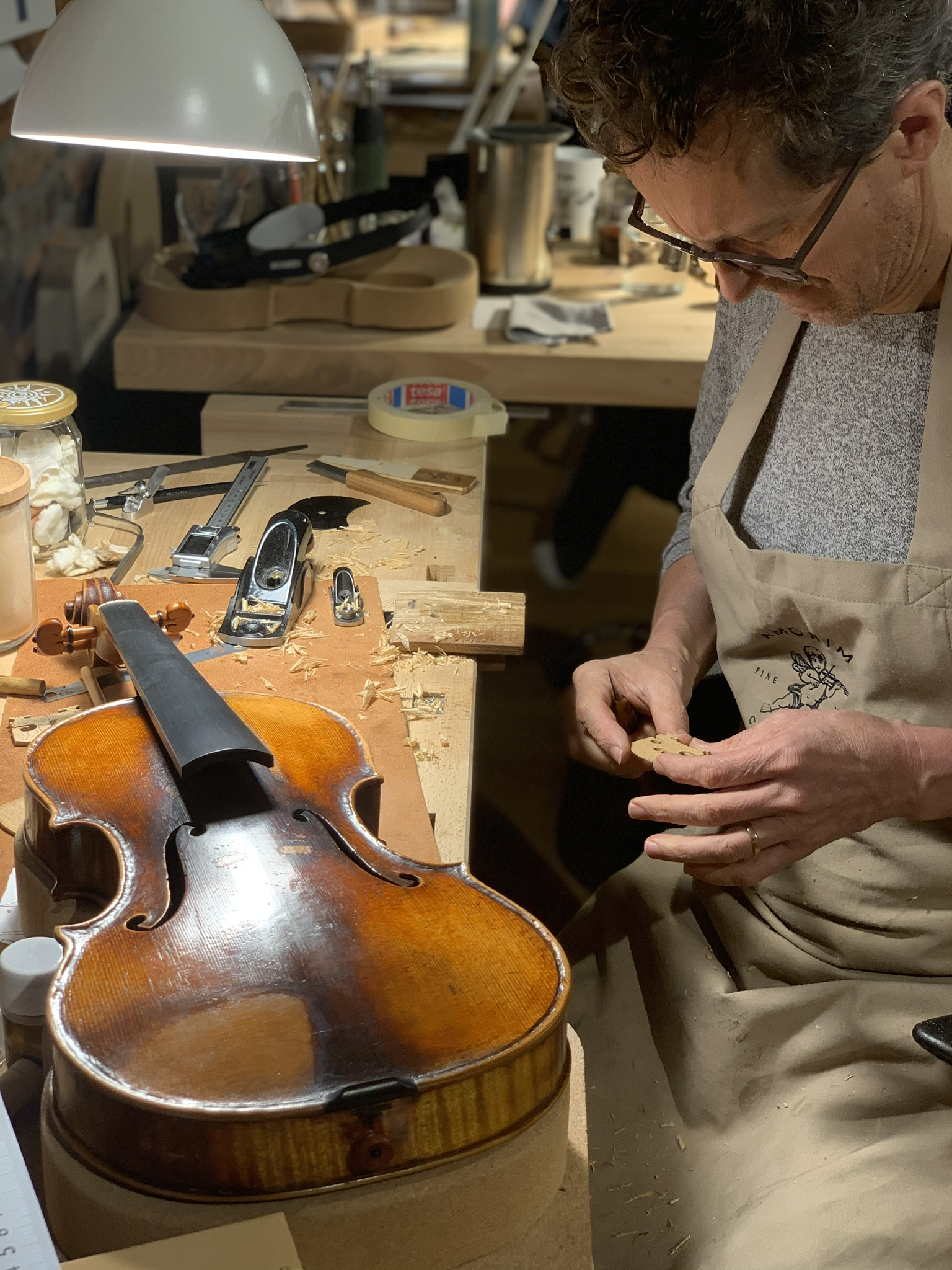 The Violins Adjustments that can turn your instrument into a whole new one