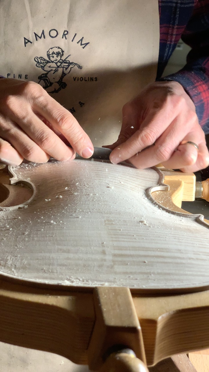 The craftsmanship of a handmade violin will amaze you