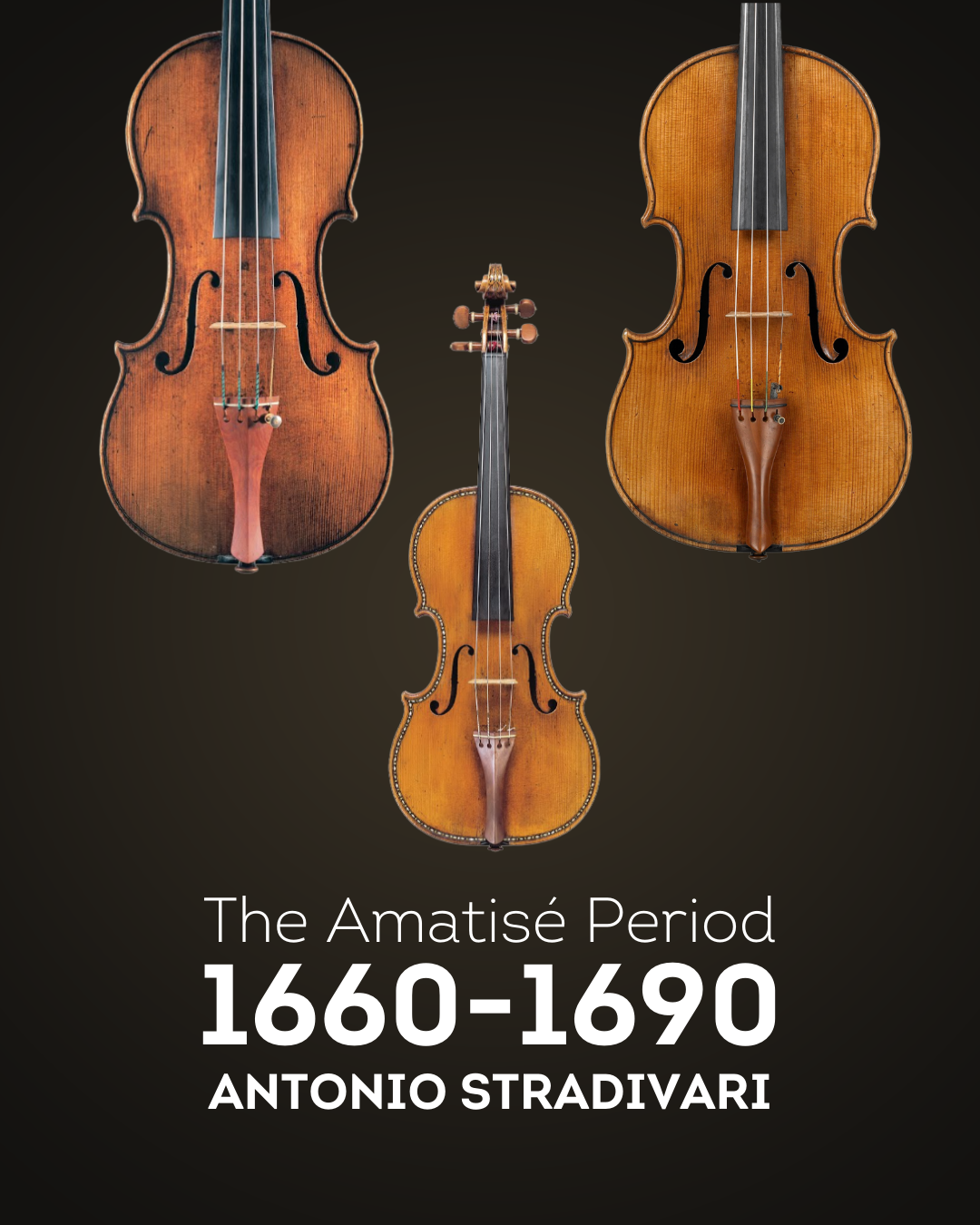 Stradivari, the story behind the maker: Part one, the Amatisé period
